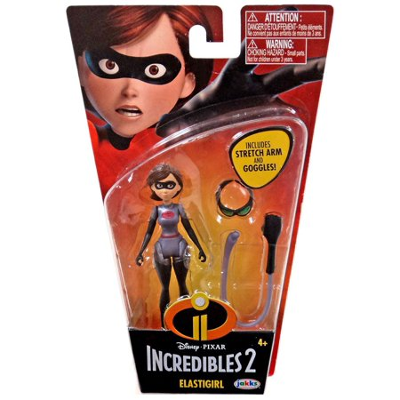 - Disney / Pixar Super Poseable Series 2 Elastigirl Basic Action Figure