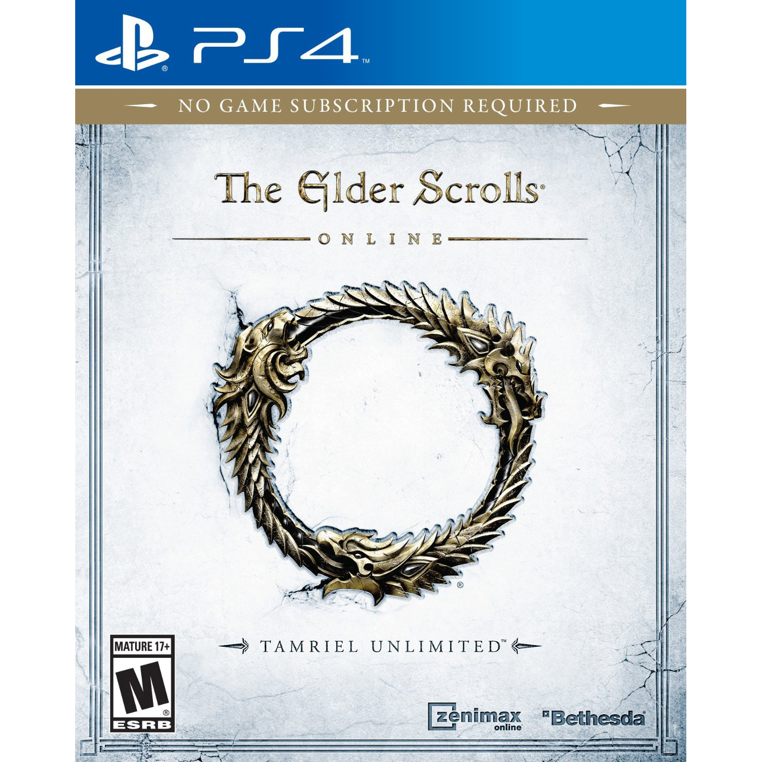 Bethesda Elder Scrolls Online: Tamriel Unlimited Video Game for PS4 or Xbox One