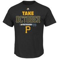 Pittsburgh Pirates Majestic 2015 Postseason Part T-Shirt - Black
