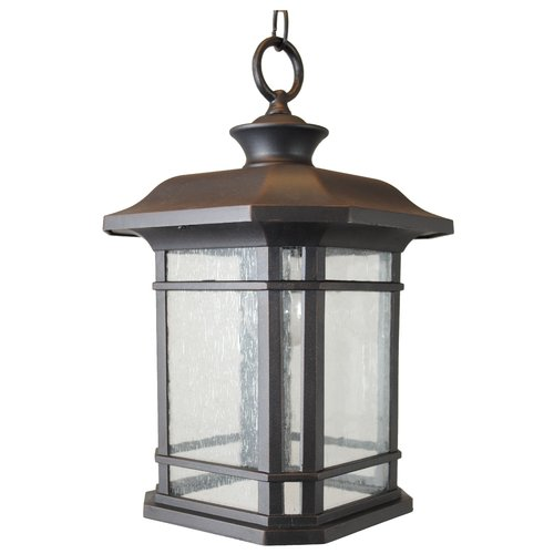 Charlton Home Falstaff 1-Light Outdoor Hanging Lantern by