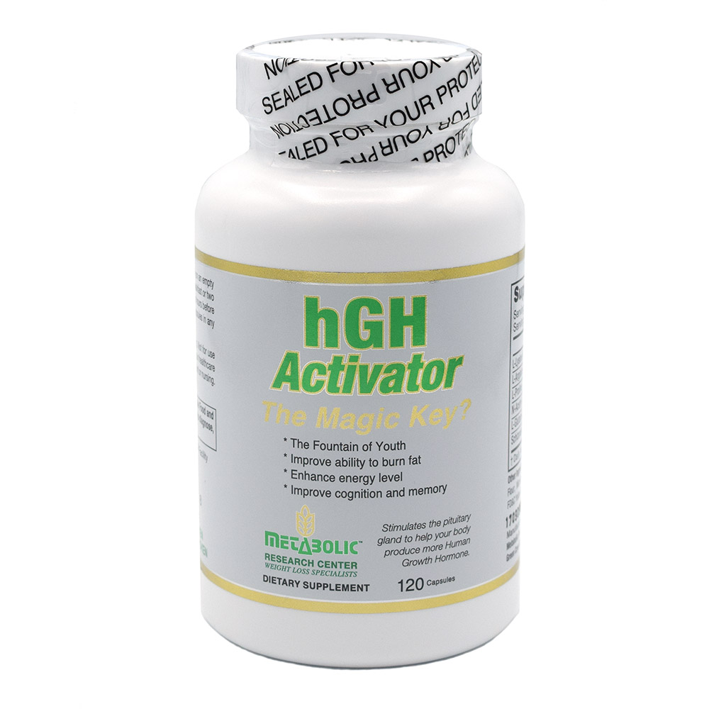 HGH Activator by Metabolic Research Center - Fight Aging From The Inside Out!