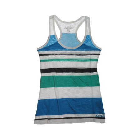 Ecko Unltd. Womens Multi Stripe Boy Racerback Tank Top white XS - image 1 de 1