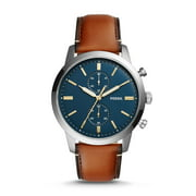 Best Fossil Watches For Men - Fossil Men's FS5279 Townsman 44mm Chronograph Luggage Leather Review
