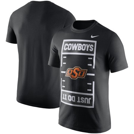 Oklahoma State Cowboys Nike Just Do It T-Shirt - -