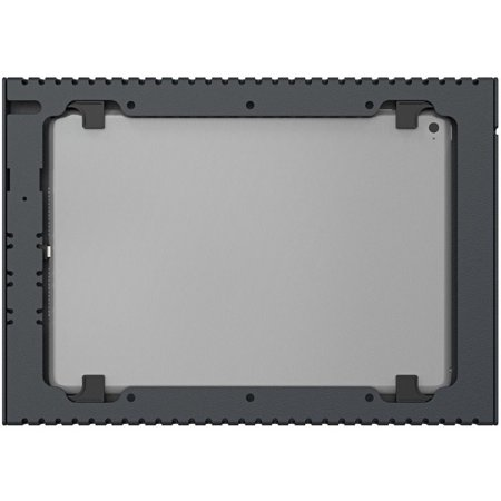 """VisionTek Heckler Slim Wall mount secure tablet enclosure with PoE Power for 10.2"""" iPAD, power only"""