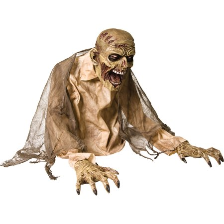 Morris Costumes Gaseous Zombie Animated Halloween Prop Haunted House Decoration, Style MR124197