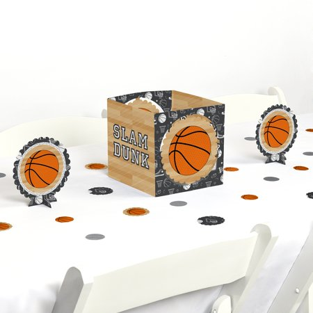 Nothin' But Net - Basketball - Party Centerpiece & Table Decoration Kit