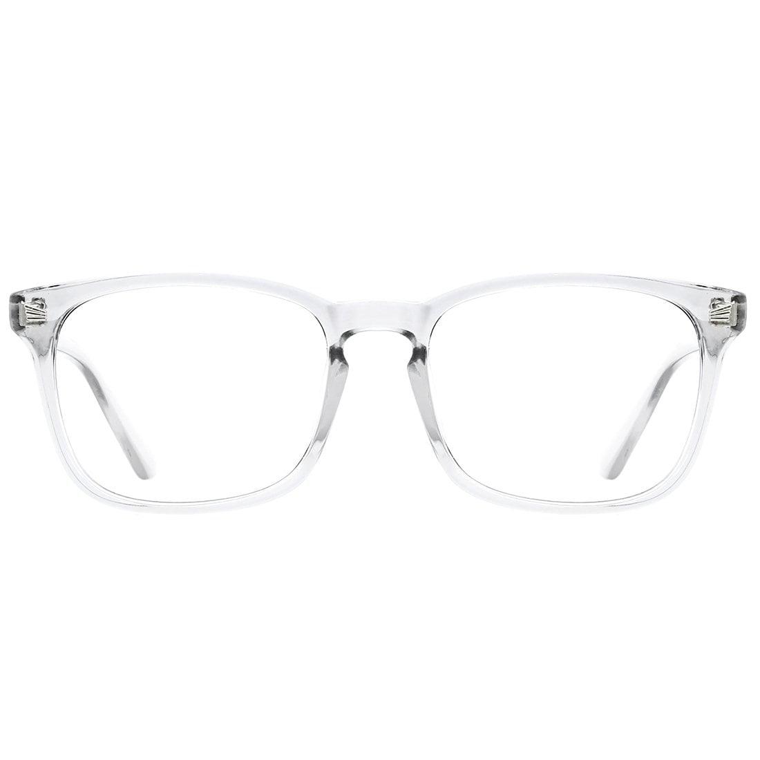 Blue Light Blocking Glasses Square Nerd Eyeglasses Frame