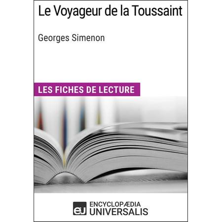 Le Voyageur de la Toussaint de Georges Simenon - eBook ()