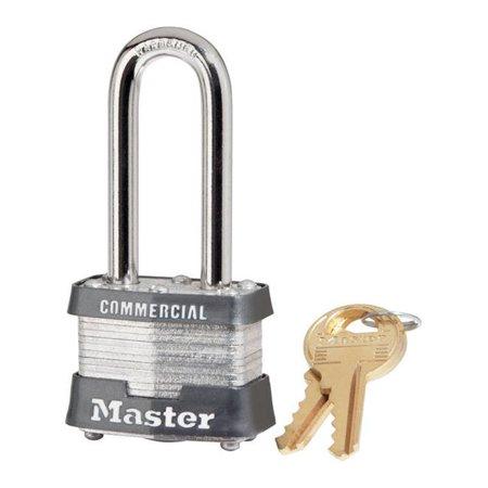 Master Lock Lam Steel Padlock #3 1-9/16 In. Body Long Shackle Ka3753 1.5 Shackle 3 Body