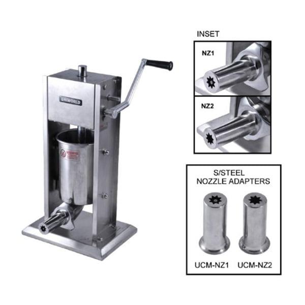Uniworld Churro Maker Deluxe Stainless Steel 15lb Capacit...