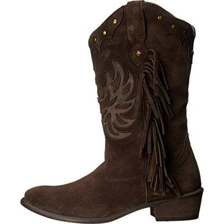 2f54fd864 Roper - Roper Womens Fringes Suede Fringe Cowboy, Western Boots -  Walmart.com