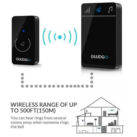 3 Type Normal/WiFi/Visual Rainproof Wireless DoorBell Smart Video Door IR Night Vision Ring Camera Intercom Home Security Two-Way Talk
