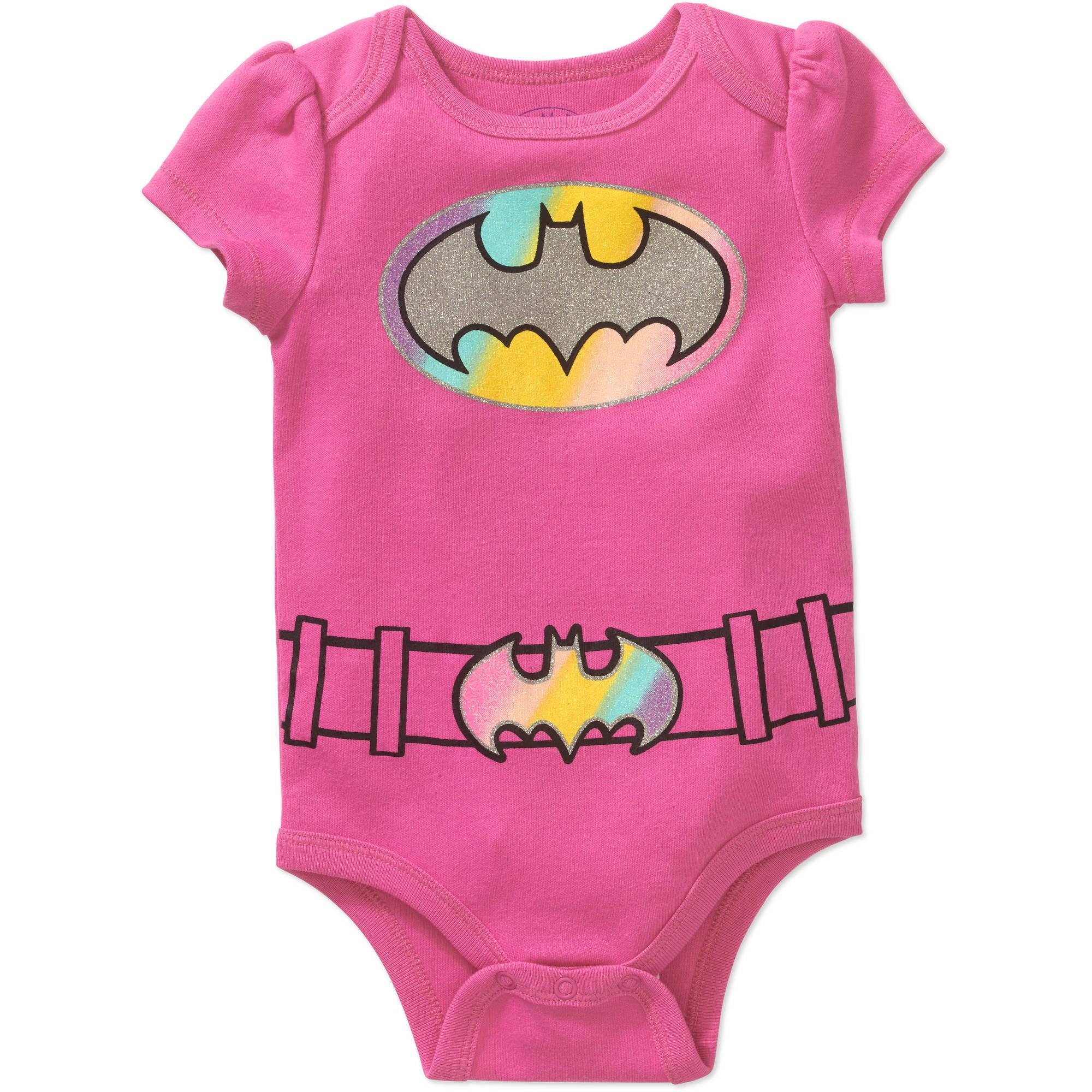 Generic Batgirl Newborn Baby Girls' Bodysuit