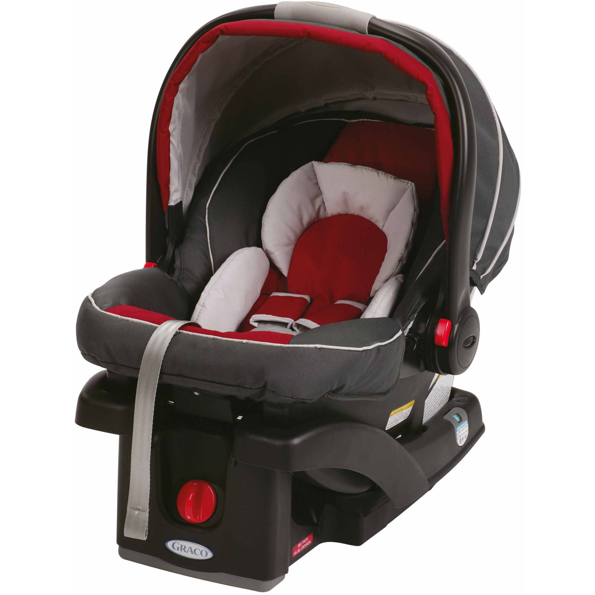 Graco SnugRide Click Connect 35 Infant Car Seat, Chili Red