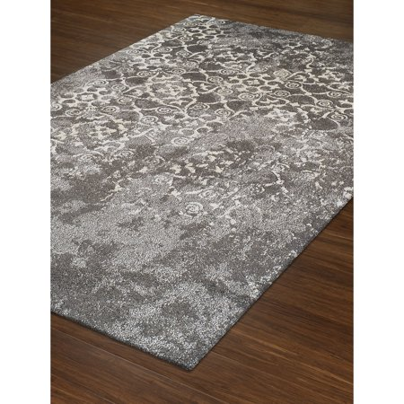 Addison Rugs Wellington Canterbury Pewter Ivory Silver Area Rug