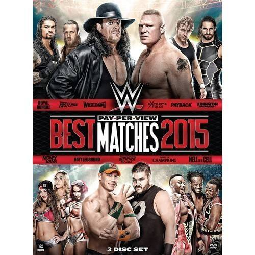 WWE: Pay-Per-View Best Matches 2015 by WARNER HOME VIDEO