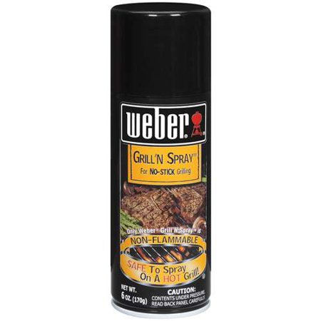 Weber Non-Flammable Grill n Spray, 6 oz