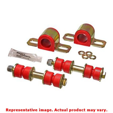 Energy Suspension Sway Bar Bushing Set 14 5101R Red Front Fits Isuzu 1989   199