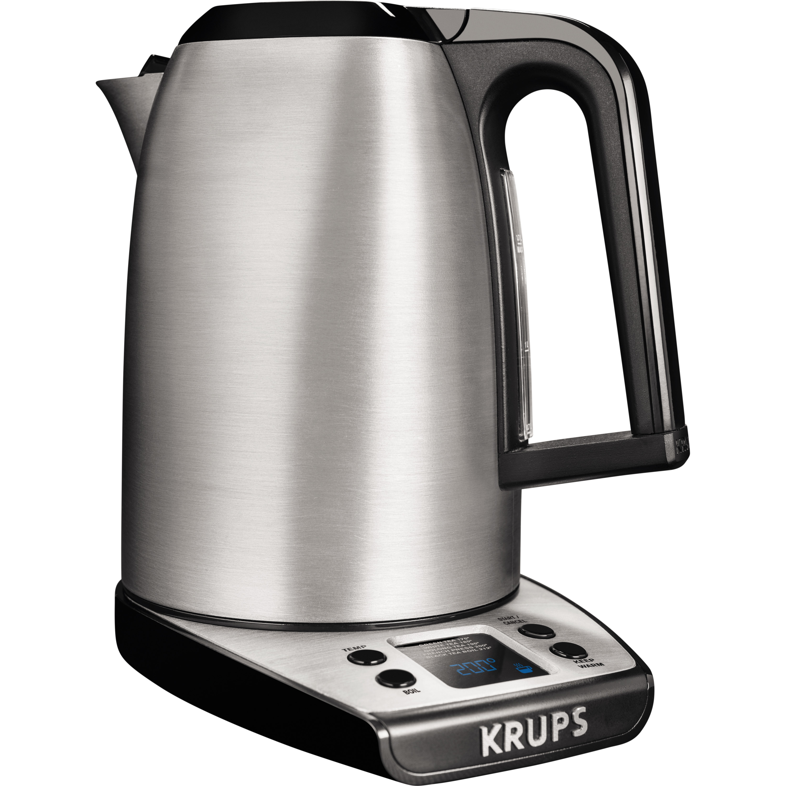 KRUPS, Electric Kettle with adjustable temperature, Stainless Steel BW314050