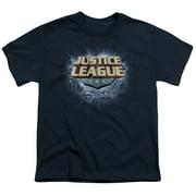Jla - Storm Logo - Youth Short Sleeve Shirt - Medium