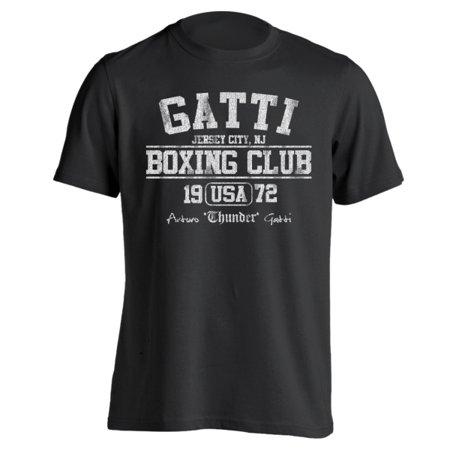 Boxing Club Tee (Gatti Boxing Club Small Black Basic Men's)