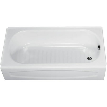 American Standard 5' Alcove Bathtub White Salem Right Hand Drain American Standard 6ft Baths