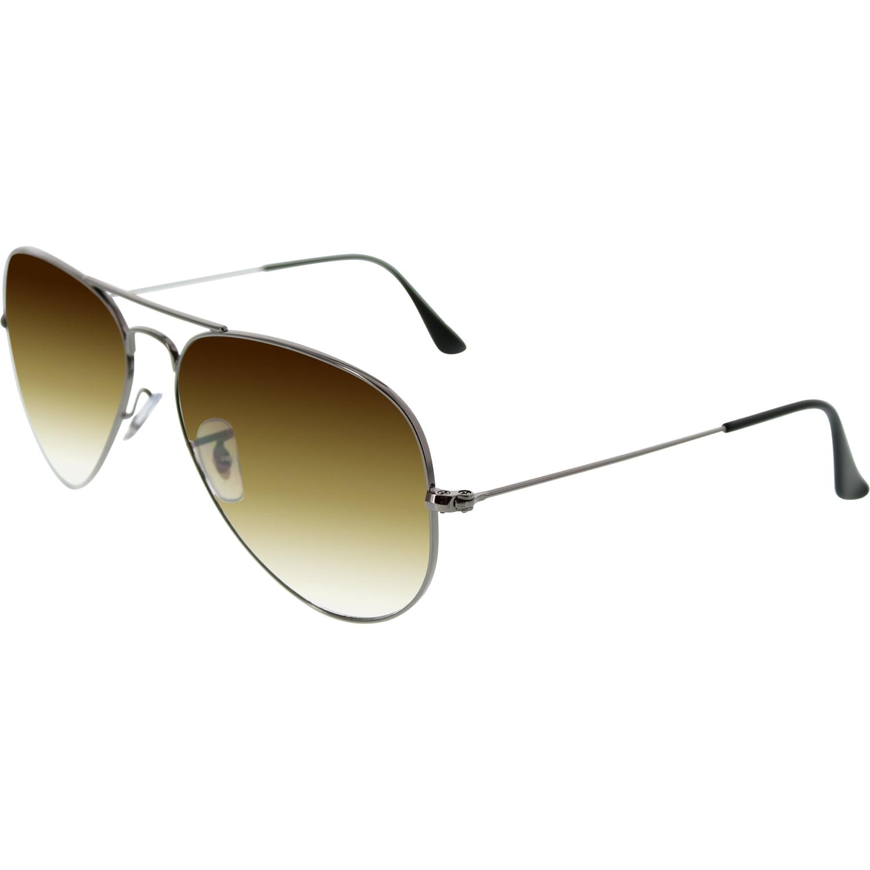 ray ban sunglasses aviator rb3025 gradient 01 51  ray ban men's gradient aviator rb3025 004/51 58 gunmetal aviator sunglasses
