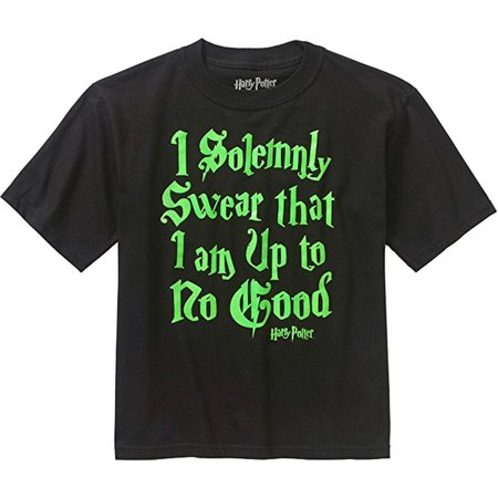 Harry Potter I Solemnly Swear Up To No Good Boys T-shirt - Harry Potter Dressing Up Clothes