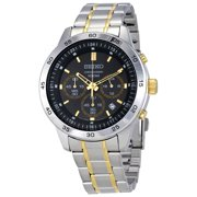 Seiko Men's SKS525 Silver Stainless-Steel Quartz Dress Watch