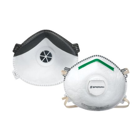 Sperian Safety Wear N95 Respirator with Boomerang Nose Seal and Exhalation Valve