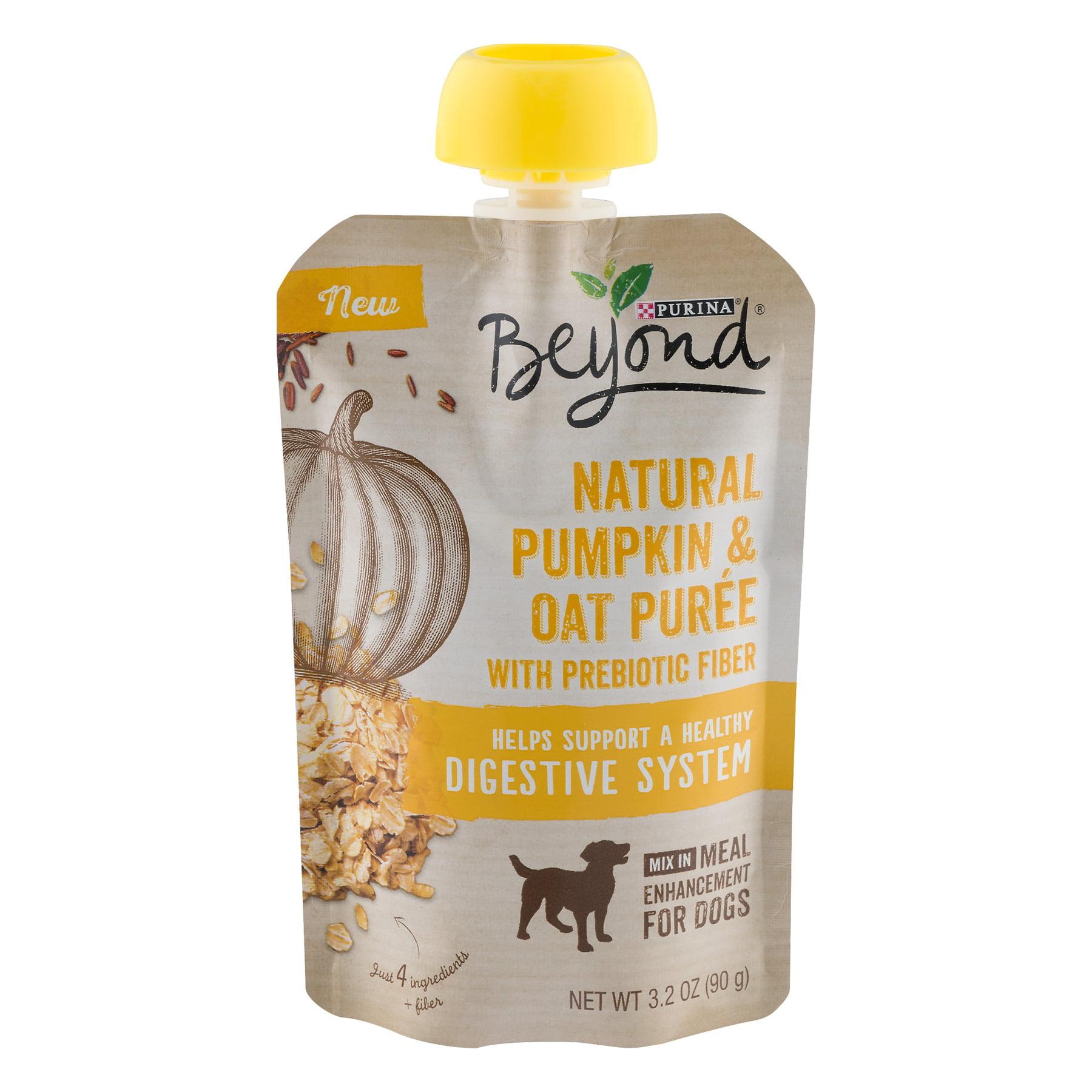 Purina Beyond Natural Pumpkin & Oatmeal Puree With