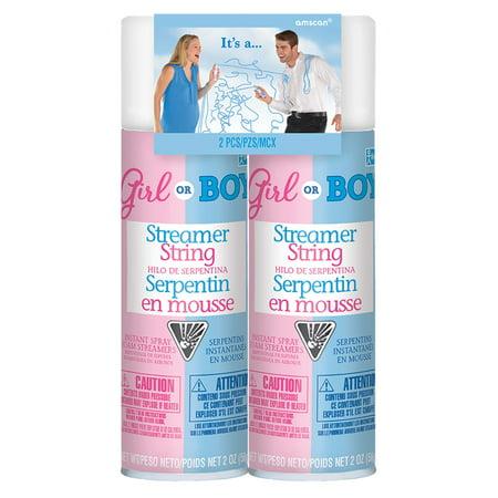Streamer String Gender Reveal for Boy](Gender Reveal Confetti)
