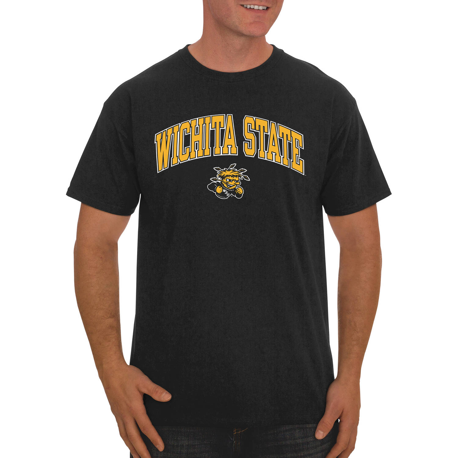 NCAA Wichita State Shockers Men's Classic Cotton T-Shirt
