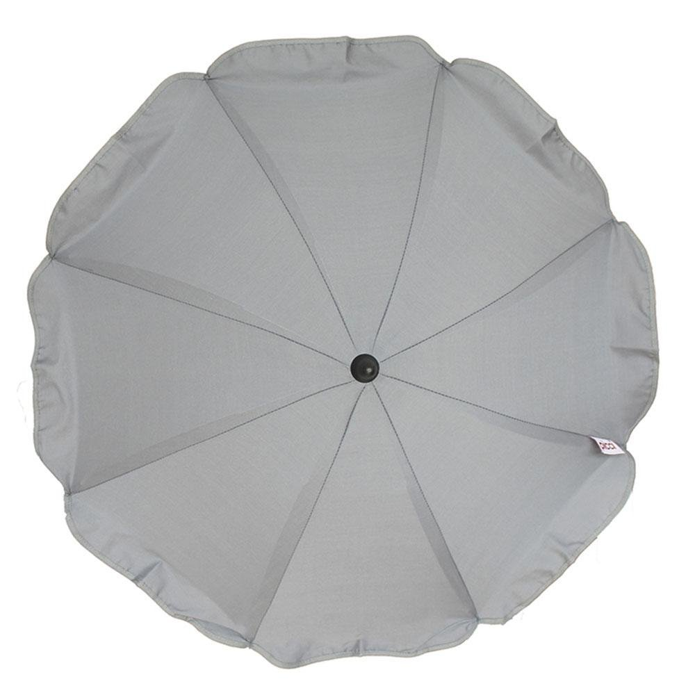 Ombrellino Parasol Sunshade Universal for Strollers, Grey...
