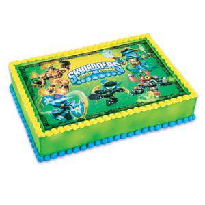 Skylanders Swap Force Edible Cake Topper Walmart Com