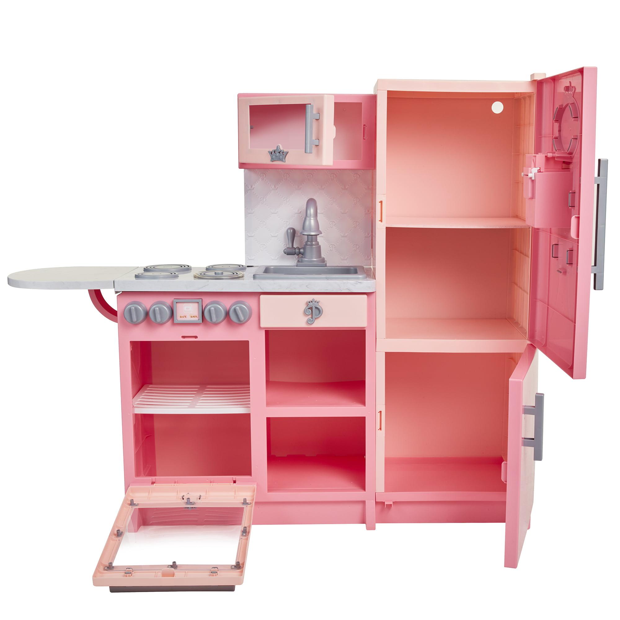 Disney Princess Style Collection Gourmet Play Kitchen Walmart Com Walmart Com