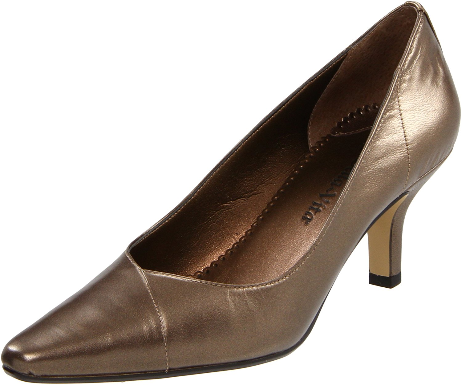 Bella Vita Womens Wow Leather Pointed Toe Classic Pumps by Bella Vita