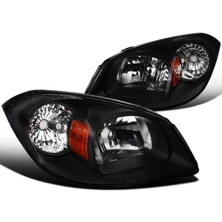 Spec-D Tuning 2002-2010 Chevy Cobalt 2005-2006 Pursuit 2007-2009 Pontiac G5 Black Clear Headlights 05 06 07 08 09 10 (Left + (Cobalt Headlight)