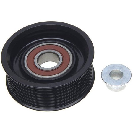 OE Replacement for 2005-2018 Nissan Frontier Accessory Drive Belt Idler Pulley (Desert Runner / LE / Nismo Off-Road / PRO-4X / S / SE / SL / SV) (Nissan Frontier Nismo Accessories)