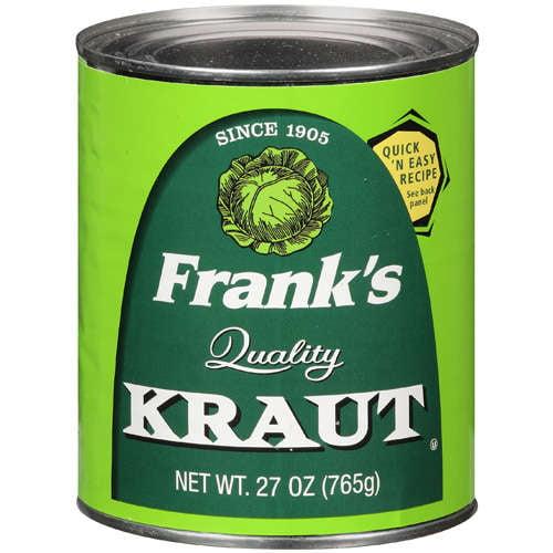 Frank's: Kraut Quality, 27 Oz