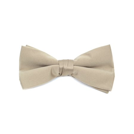 Young Boy's Pre-tied Adjustable Length Bow Tie - Formal Tuxedo Solid - Solid Hunter Green Insert