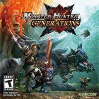 Monster Hunter Generations, Nintendo, Nintendo 3DS, [Digital Download], 0004549668155
