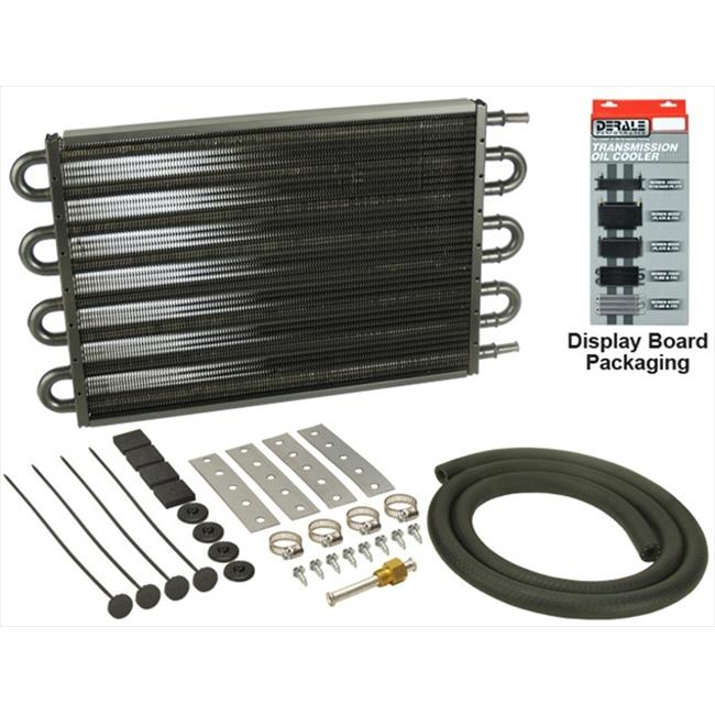 DERALE 13104 8 Pass 17 In. Series 7000 Copper & Aluminum Transmission Cooler Kit