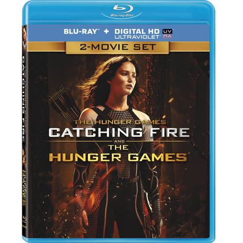The Hunger Games: Catching Fire / The Hunger Games (Blu-ray) (Walmart Exclusive) (With INSTAWATCH) (Widescreen)