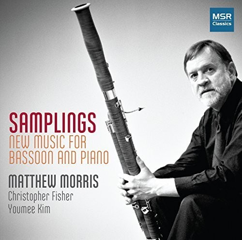 Cooke   Morris, Matthew Samplings: New Music for Bassoon & Piano [CD] by
