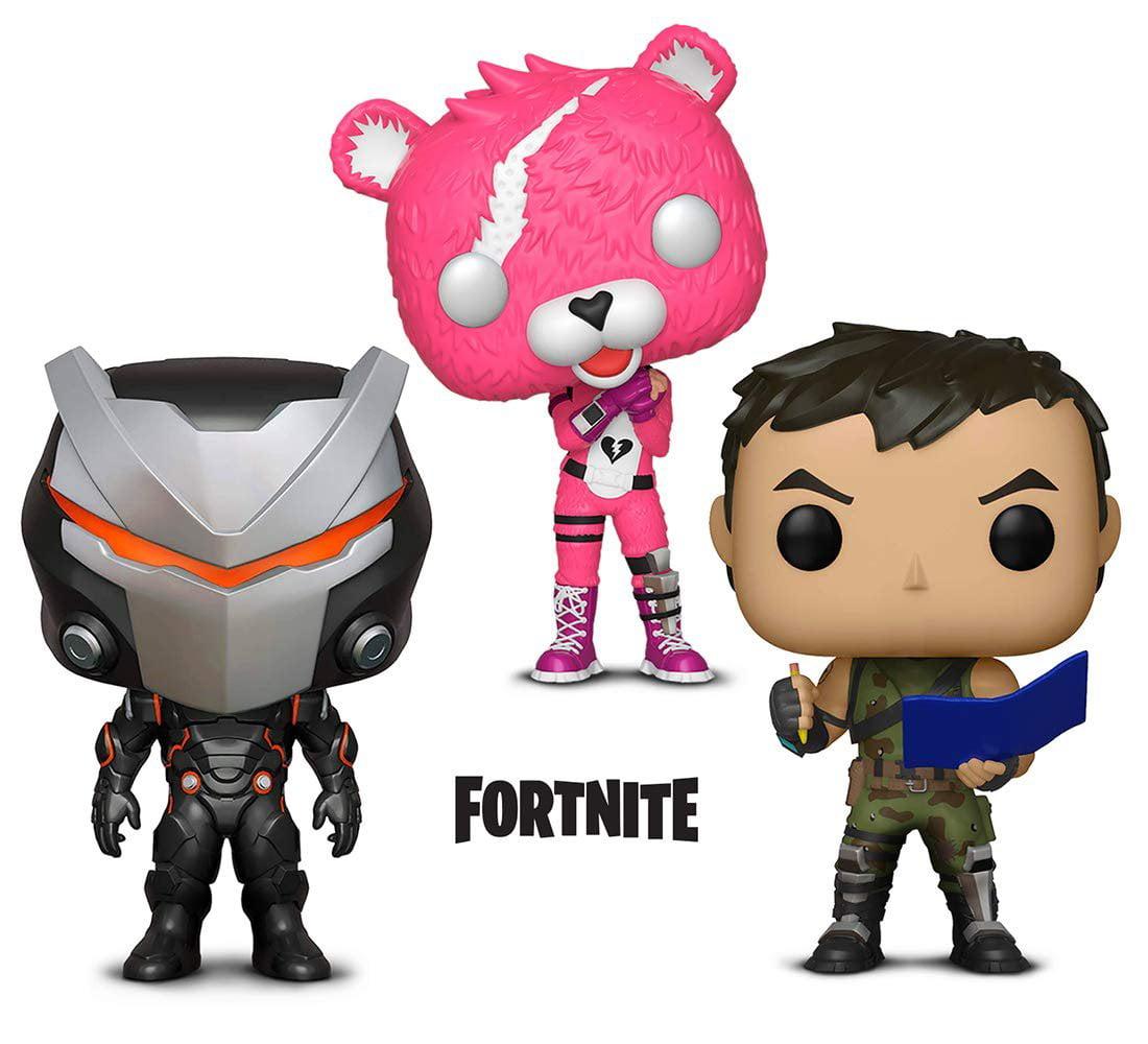 Warp Gadgets Bundle - Funko Pop GamesFortniteS1 - Cuddle Team Leader, Omega and Highrise Assault Trooper (3 Items)