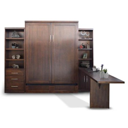 Sunset Trading Storage Wall Bed Cabinets Desk 964 Product Photo