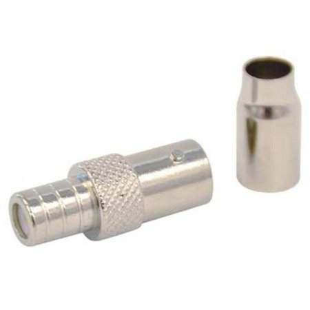 Rg58 Plenum - DOLPHIN COMPONENTS CORP DC-79-11 Coupler, Cable, BNC/Female, RG6, PK10