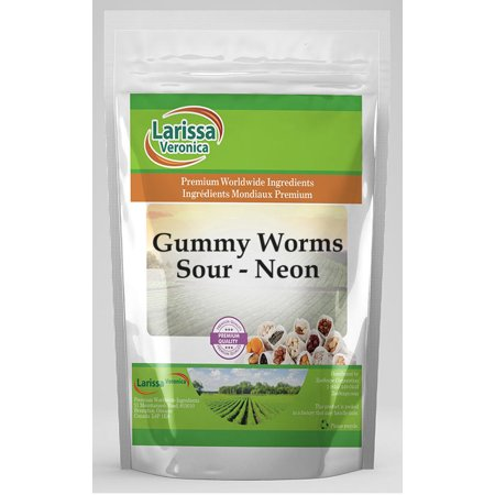 How Are Gummy Worms Made (Gummy Worms, Sour and Neon (16 oz, ZIN:)